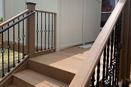 composite deck.